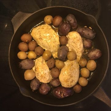miso chicken skillet 4